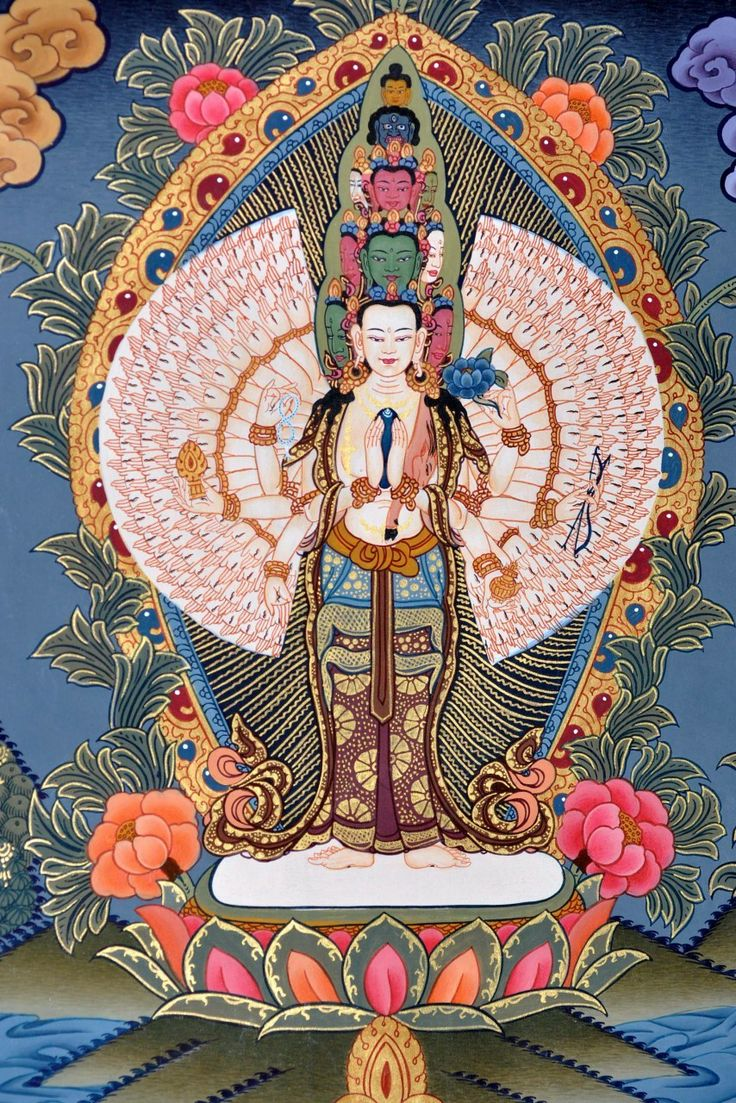 Avalokiteshvara il Dio della Nidra creativa Avalokiteshvara