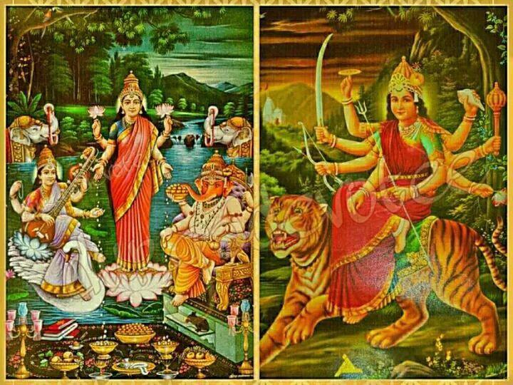 Aim, Dum, Gam:  i Bijia Mantra di Saraswati, Durga e Ganesh