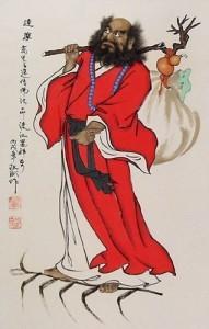 Bodhidharma fondatore del Buddhismo Chan