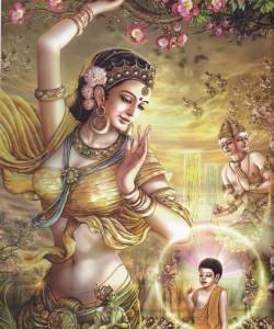 Nascita del Buddha Sakyamuni
