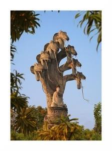 Buddha con Naga
