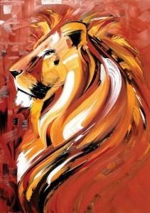 Jataka Lo sciacallo presuntuoso - il leone