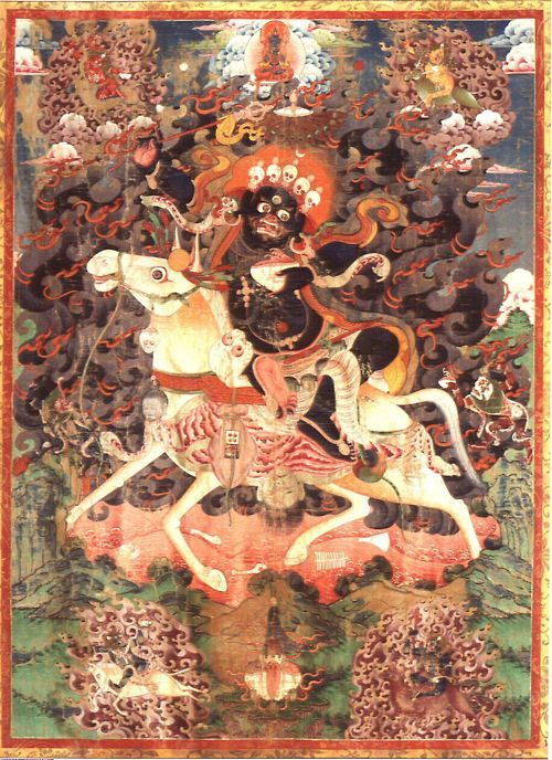 Palden Lhamo, XIX secolo, Tibet, Thangka, Indianapolis Museum of Art