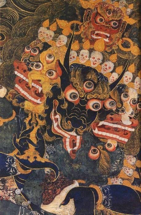 Divinità terrifiche del Buddhismo Tibetano