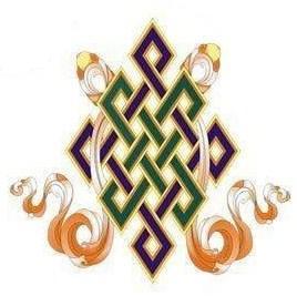 Gli otto Simboli di Buon Auspicio - nodo infinito
