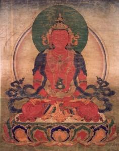 Il Buddha Primordiale e i Buddha Cosmici - Amitabha