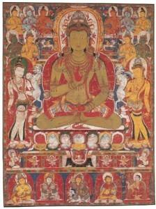 Il Buddha Primordiale e i Buddha Cosmici - Amoghasiddhi
