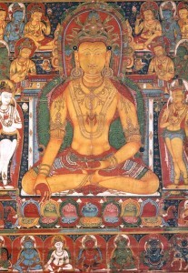 Il Buddha Primordiale e i Buddha Cosmici - Ratnasambhava