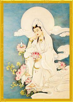 Guanyin: personificazione femminile di Avalokitesvara