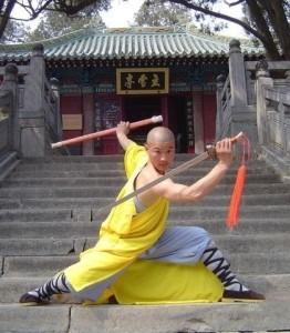 I famosi monaci-guerrieri Shaolin appartengono alla scuola del Buddhismo Chan
