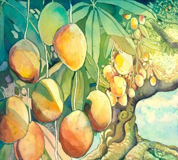 Jataka La formula magica - albero del mango