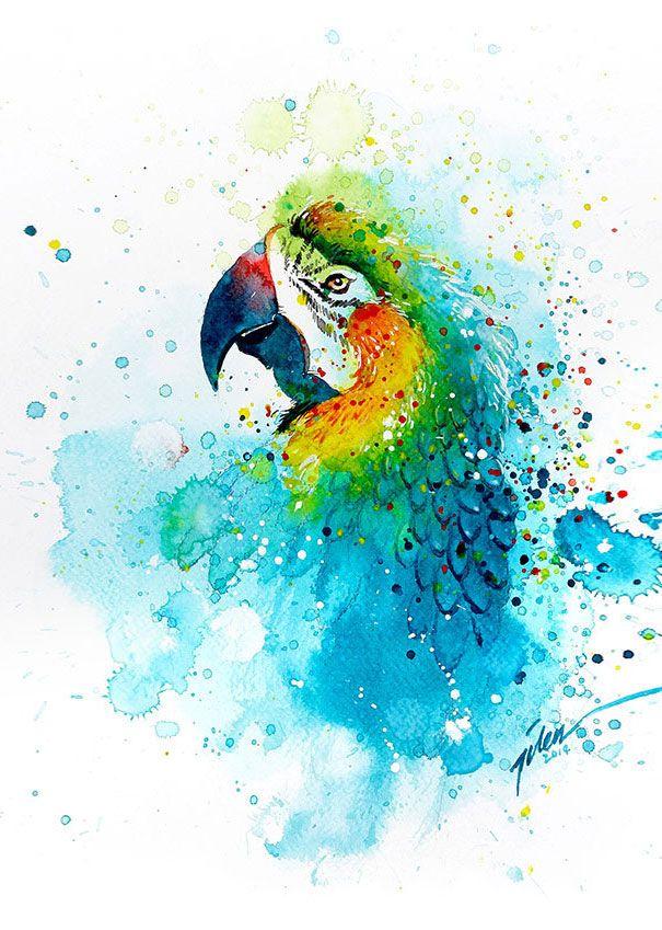 Jataka – I pappagalli e il campo di riso