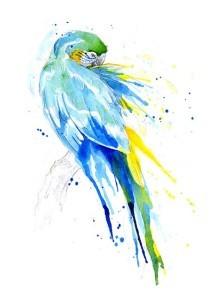 Jataka I pappagalli e il campo di riso - bodhisattva
