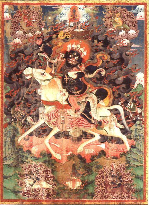 Palden Lhamo, XIX secolo, Tibet, Thangka, Indianapolis Museum of Art