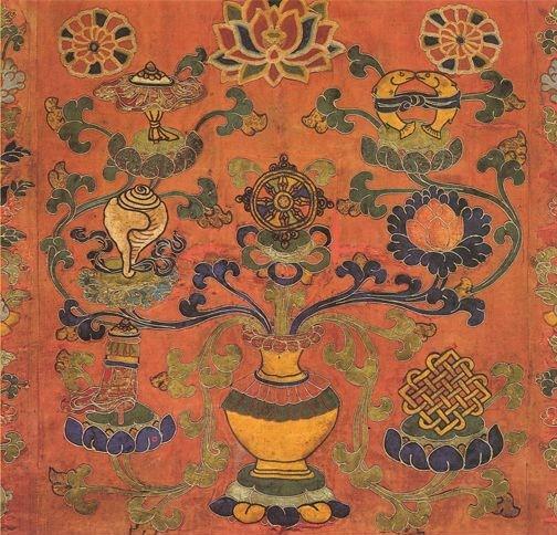 Talismani Buddhisti: gli otto simboli di Buon Auspicio