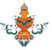 Gli otto Simboli di Buon Auspicio - vaso dei tesori