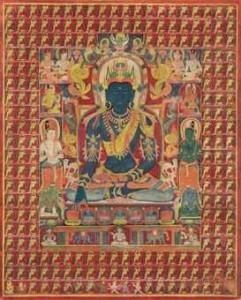 Il Buddha Primordiale e i Buddha Cosmici - Aksobhya