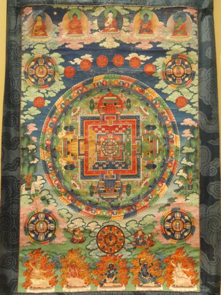Il Buddha Primordiale e i Buddha Cosmici - mandala