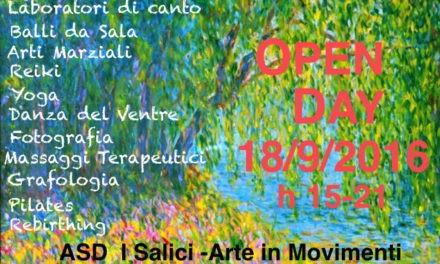 Open Day presso ASD I Salici-Arte in Movimento
